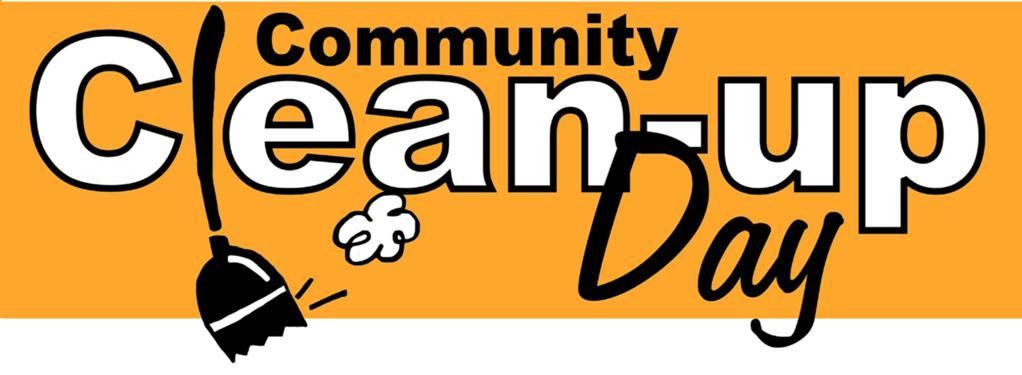 Confirmed – Community Clean Up Day