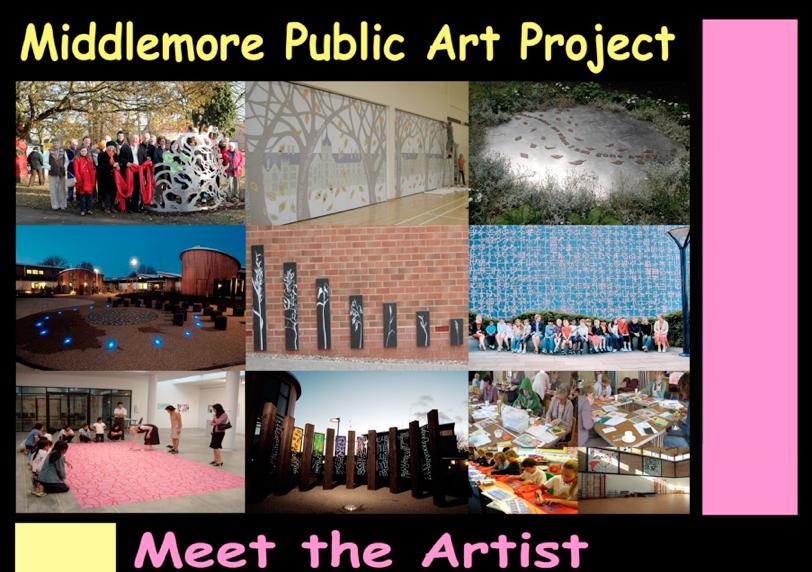 MEET THE ARTIST – tomorrow 1st November at 6.30pm